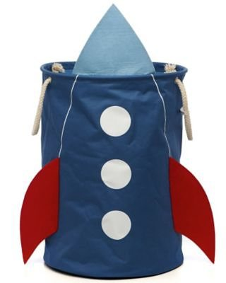 4UNIQ Aufbewahrungstonne Rakete, blau in blau