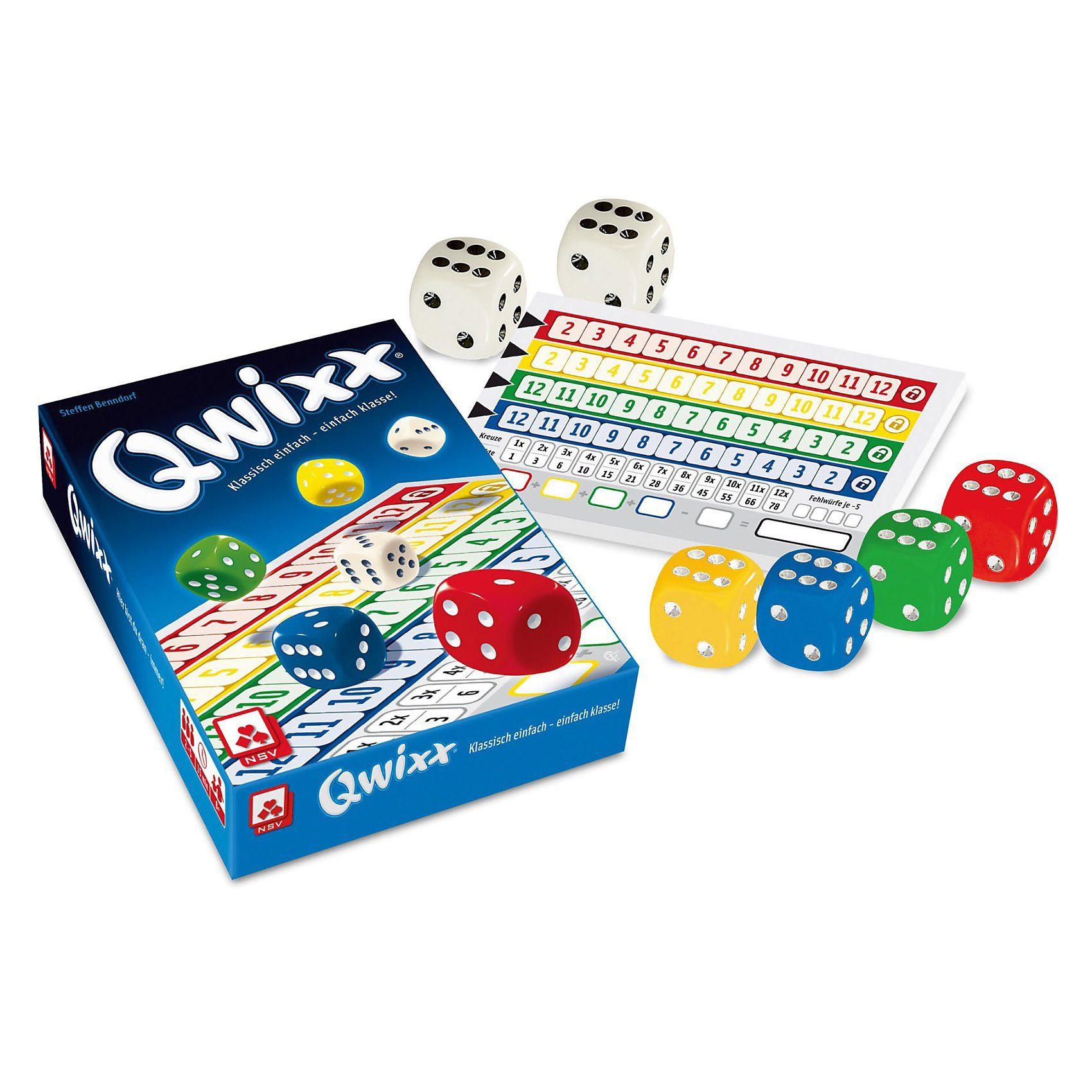 Nürnberger Spielkarten Qwixx