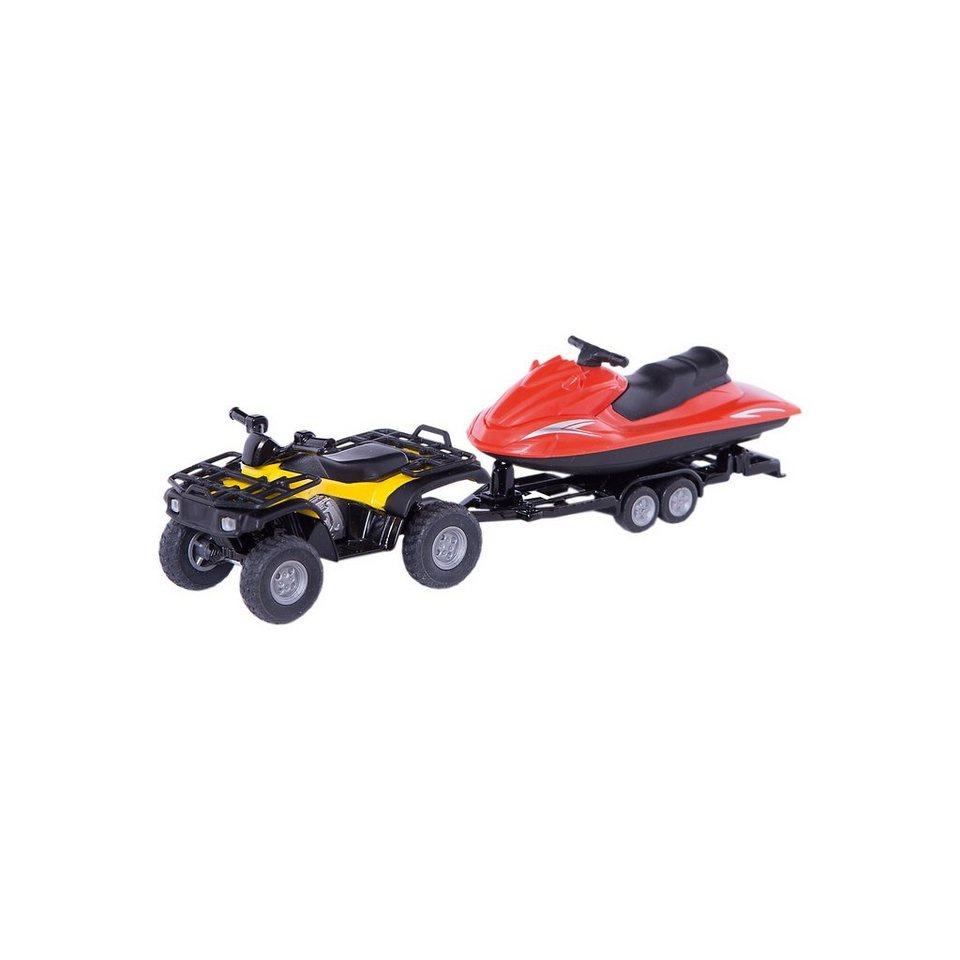 SIKU 2314 Quad mit Jet-Ski 1:55