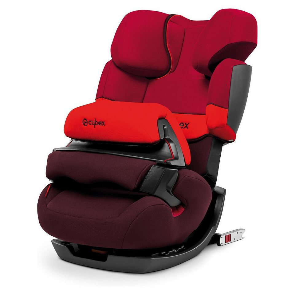 Cybex Auto-Kindersitz Pallas-Fix, Silver-Line, Rumba Red, 2017 in rot