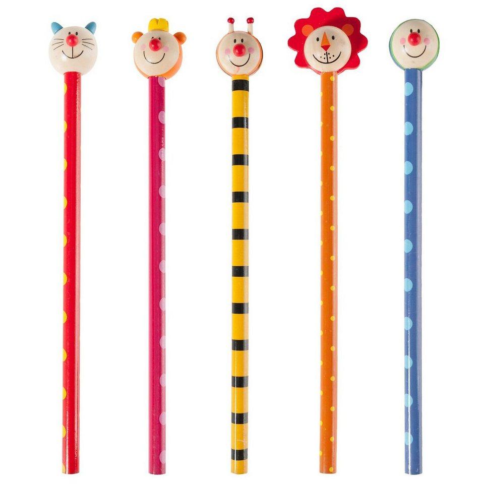 Eduplay Bleistifte mit Tierköpfen, 6 Stück