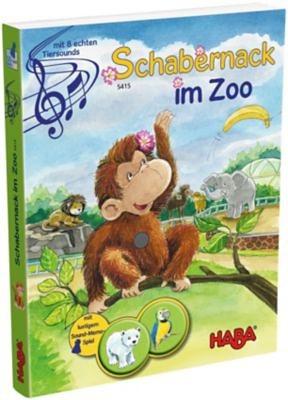 Haba 5415 Soundbuch - Schabernack im Zoo