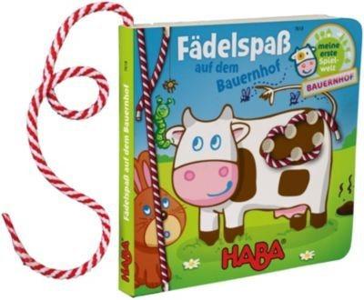 Haba Fädelbuch - Fädelspaß auf dem Bauernhof