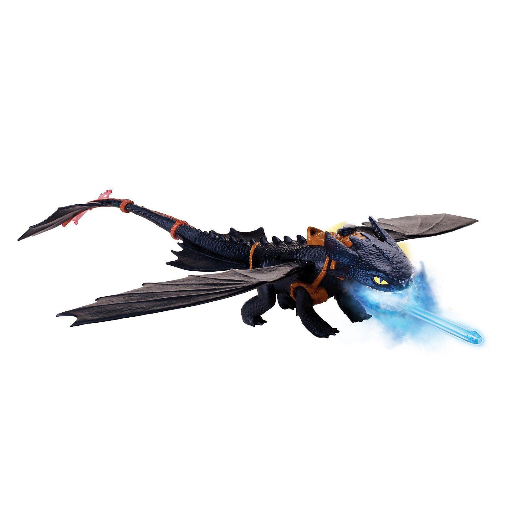 Spin Master Dragons Nachtschatten Ohnezahn Deluxe 40 cm lang