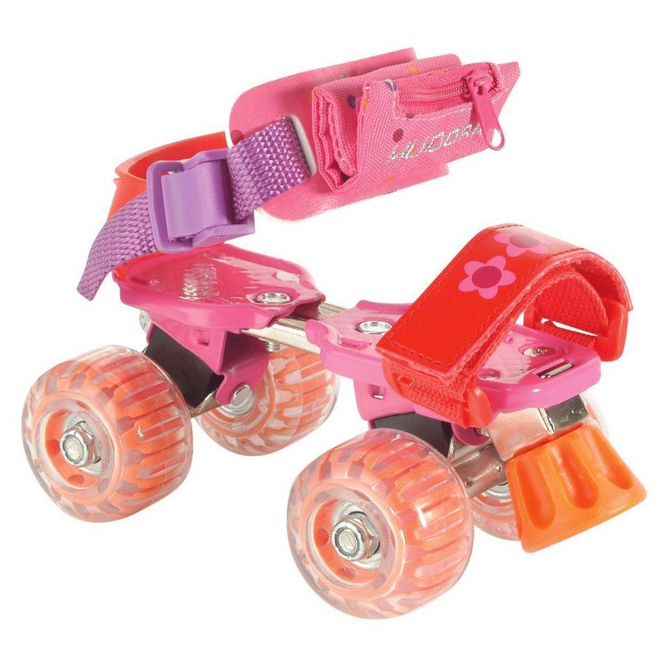 Hudora Rollschuh Girlie Gr. 21-31 in pink