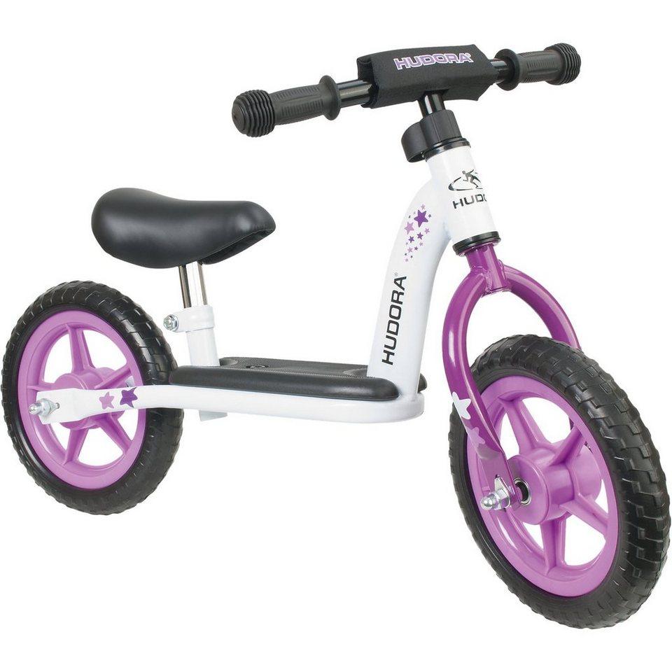 Hudora Laufrad Toddler 10 Zoll girl in pink/weiß