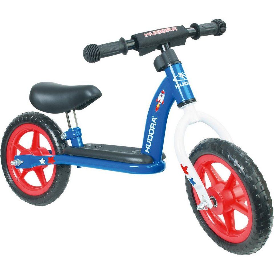 Hudora Laufrad Toddler 10 Zoll boy in blau/rot