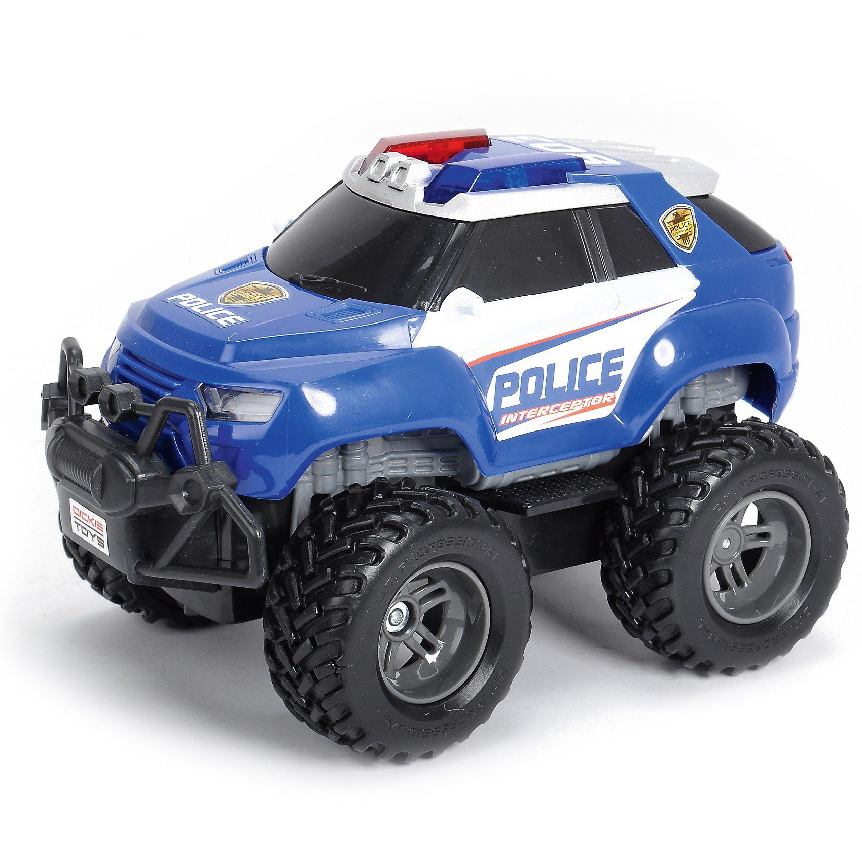 Dickie Toys RC Fahrzeug Polizei Offroader mit Licht und Sound