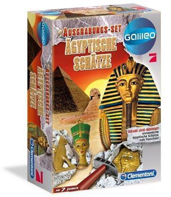 Clementoni Galileo - Ausgrabungsset - Entdecke Ägyptische Schätze
