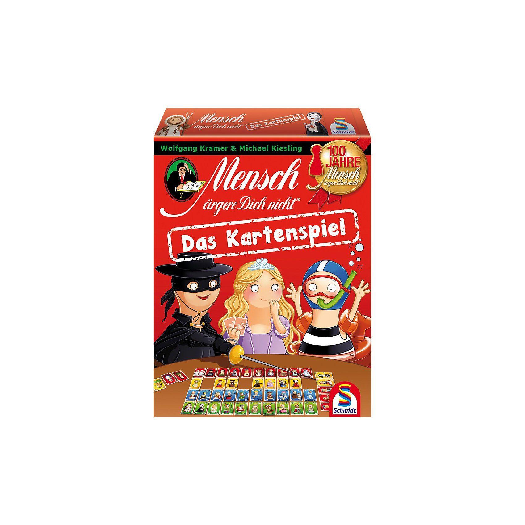 Schmidt Spiele Mensch ärgere Dich nicht, Das Kartenspiel