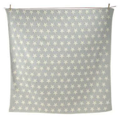 david fussenegger kuscheldecke finn stars grau natur flanell 130 x 130 cm online kaufen otto. Black Bedroom Furniture Sets. Home Design Ideas