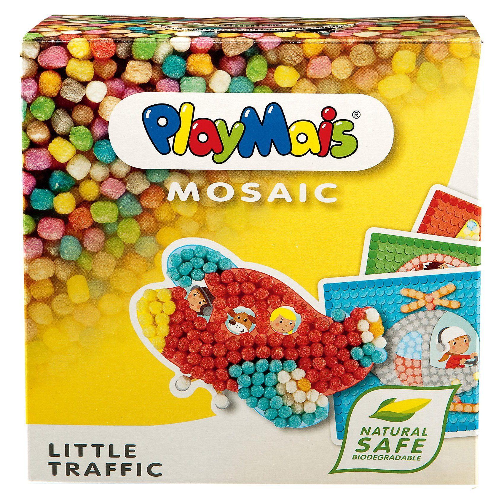 PlayMais MOSAIC Little Verkehr, 2.300 Maisbausteine