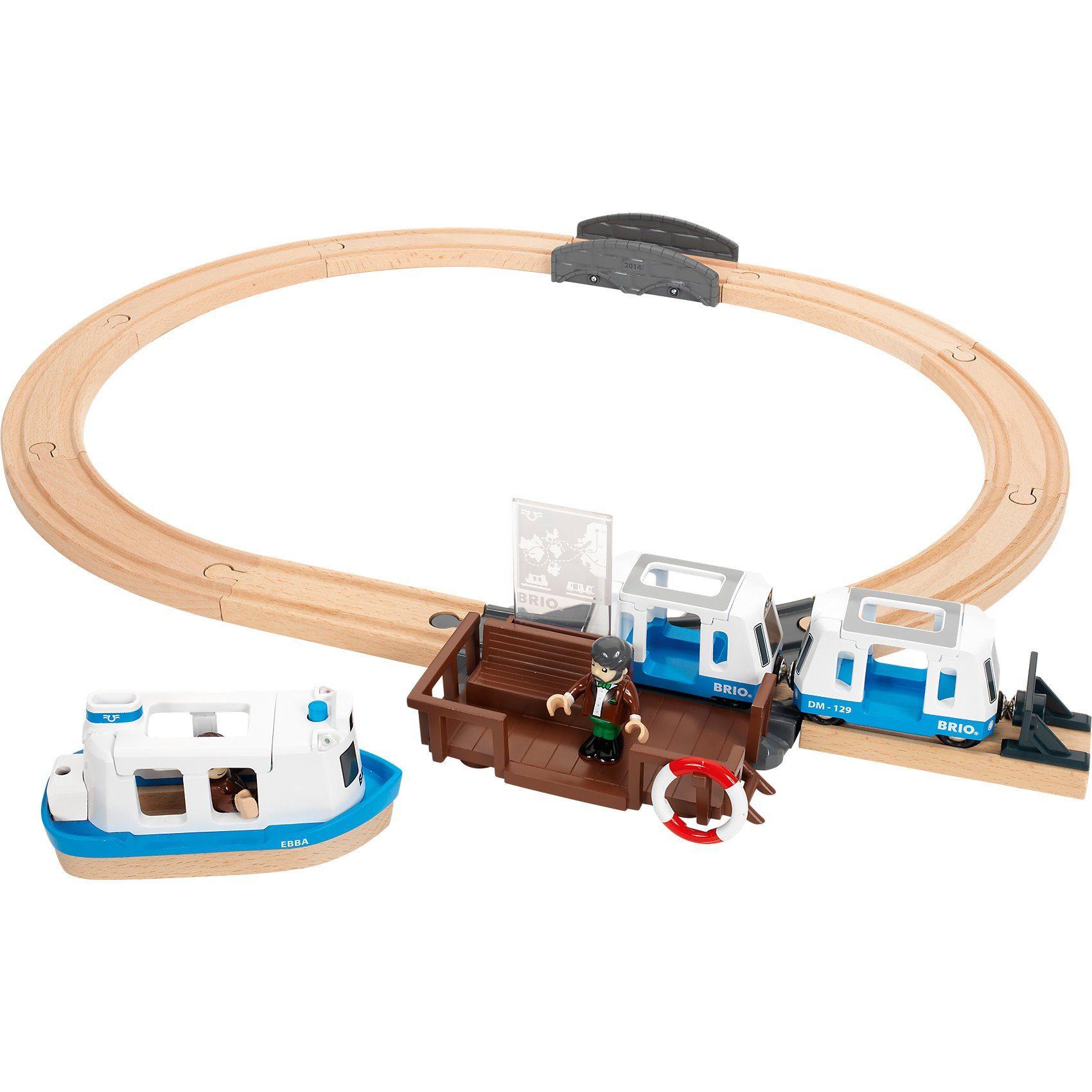 BRIO Passagierfähre-Set