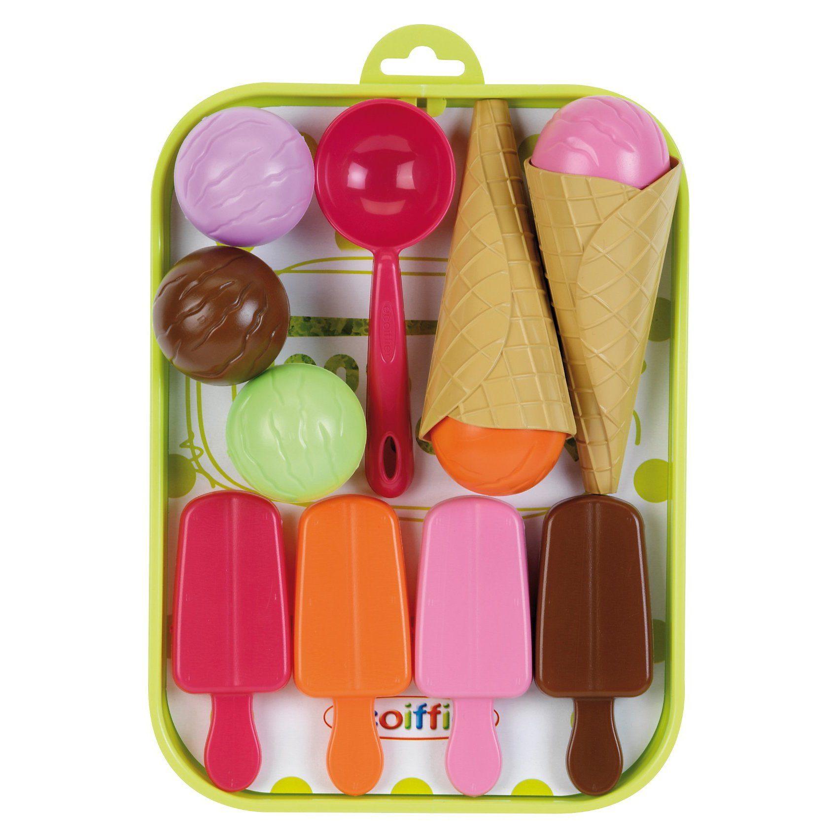 Spiellebensmittel Eis-Tablett