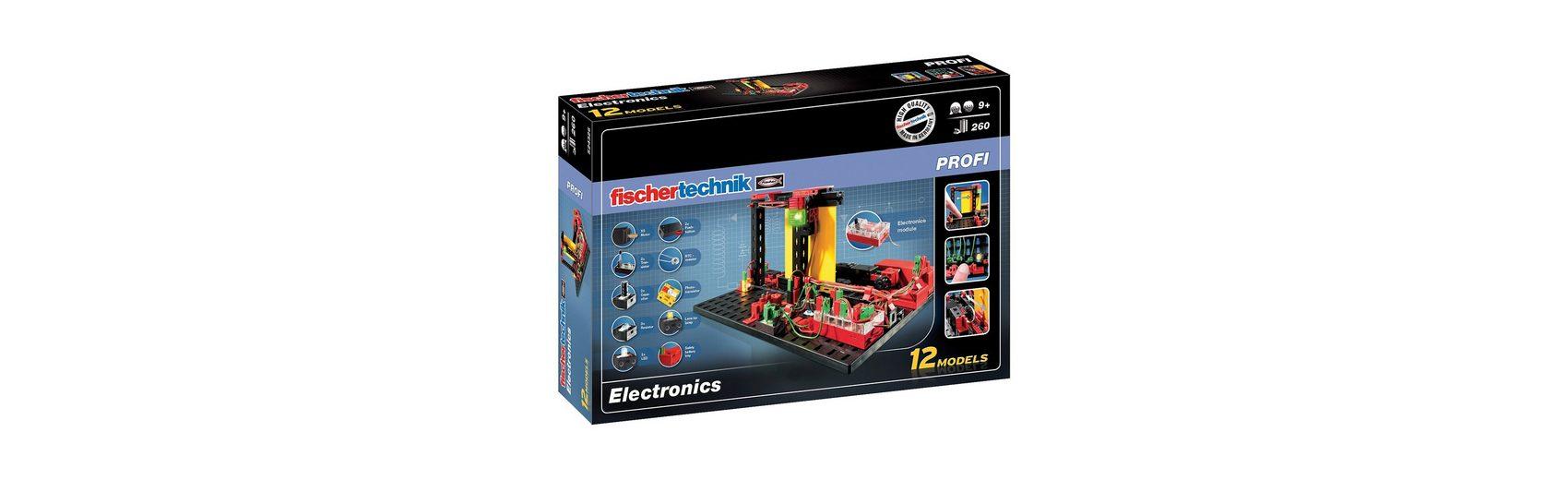 """fischertechnik PROFI """"Electronics"""" - Elektronik Baukasten"""