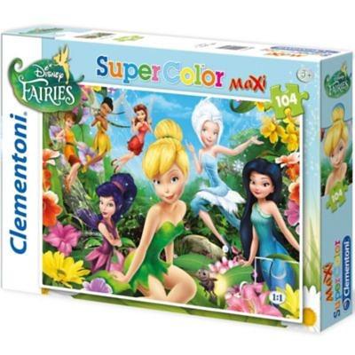 Clementoni Puzzle - 104 Teile Maxi - Fairies