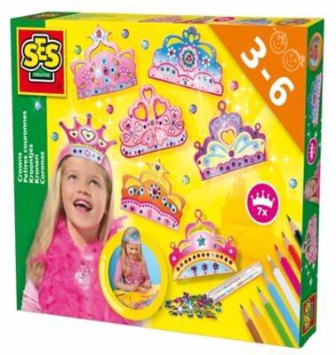 SES Creative Kreativset Prinzessinnenkronen basteln