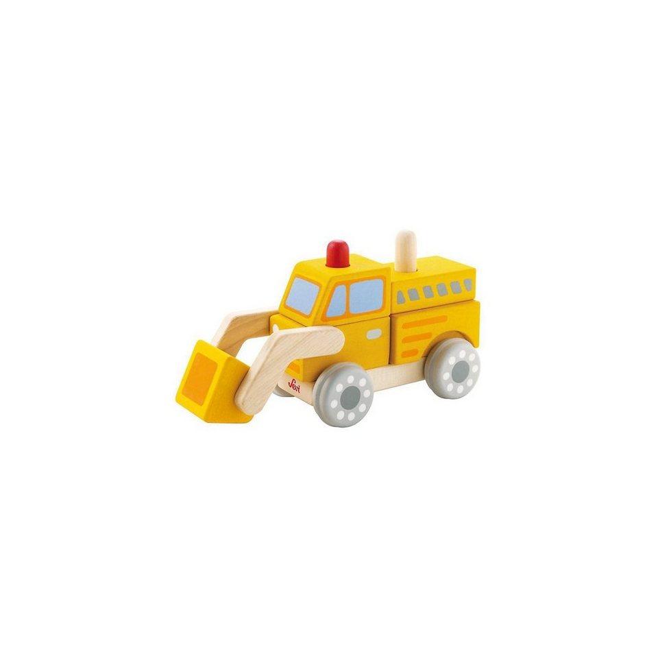 Sevi Lernpuzzle Bulldozer