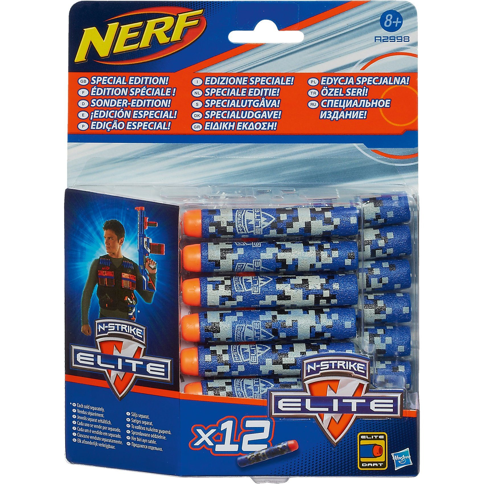 Hasbro NERF N-Strike Elite Deko Darts 12er Pack
