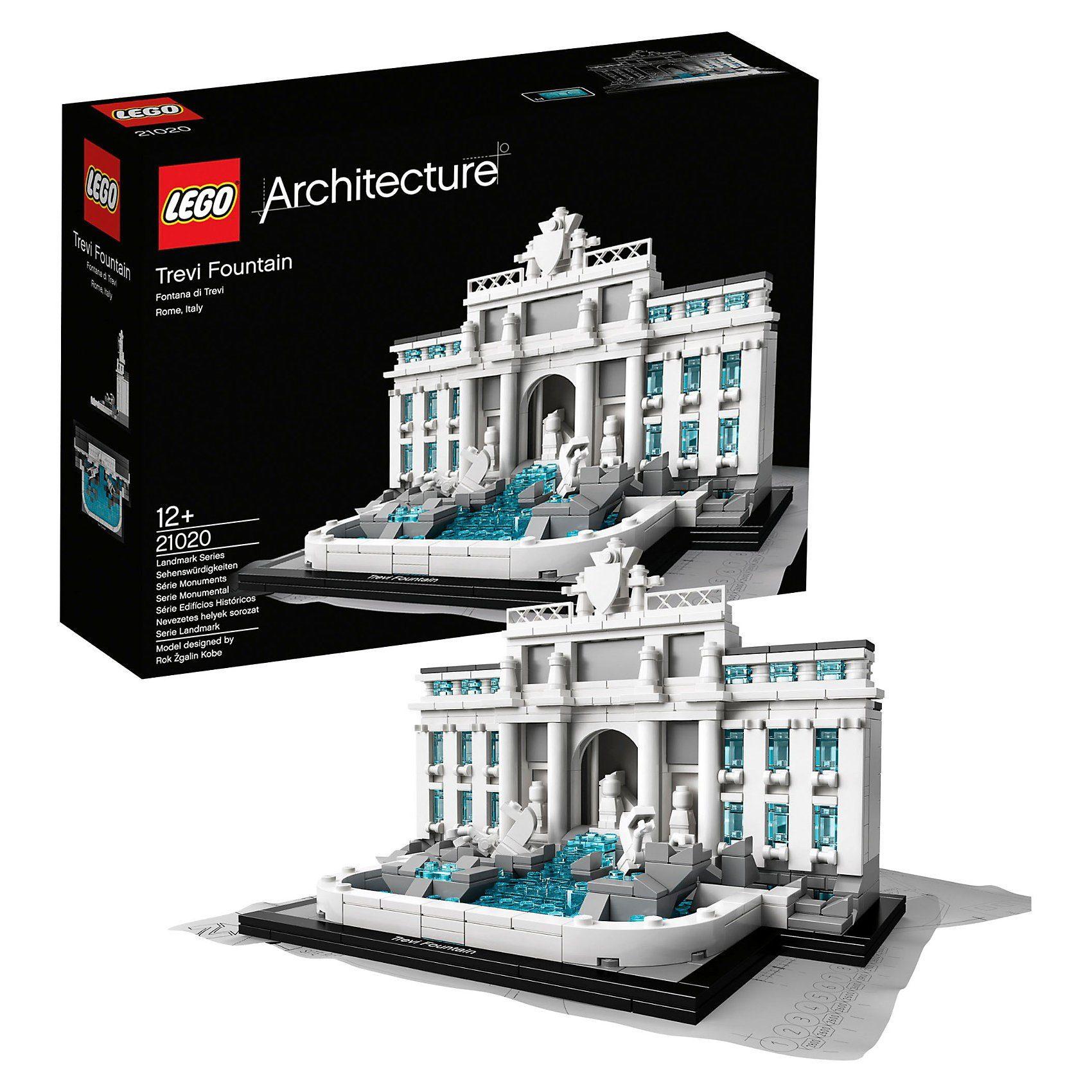 LEGO 21020 Architecture: Trevi-Brunnen