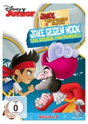 Disney DVD Jake und die Nimmerland Piraten: Jake gegen Hook - Das