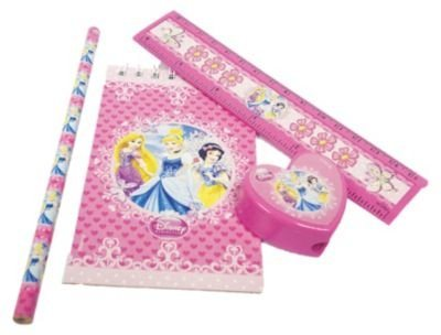 Amscan Schreibset Disney Princess, 20-tlg.