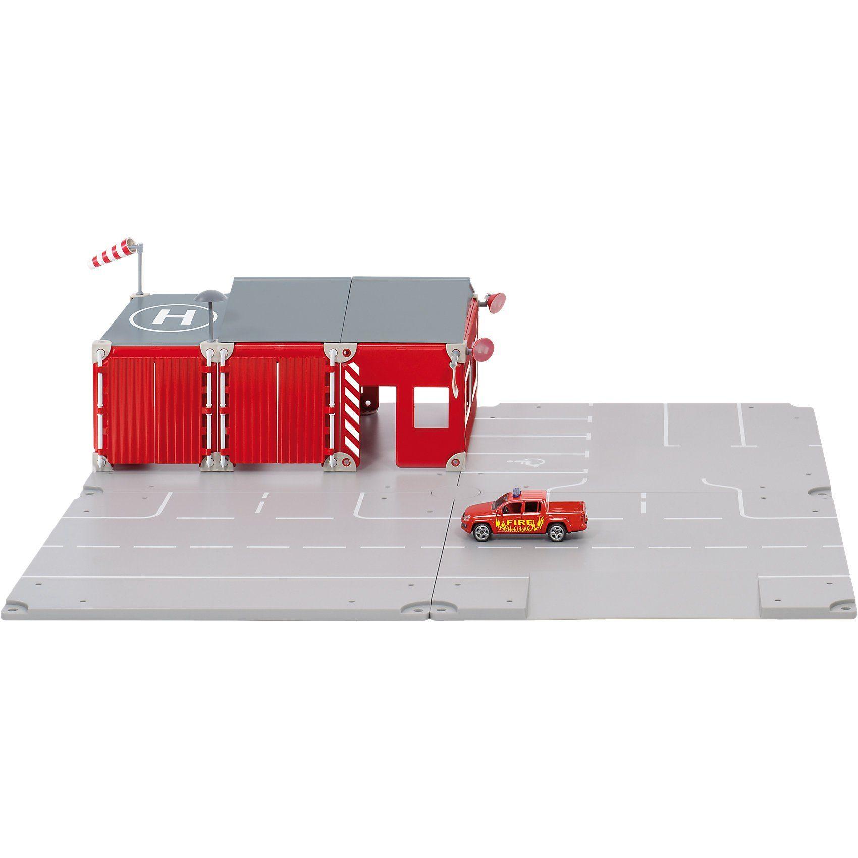 SIKU World 5502 Feuerwehr Themenpackung