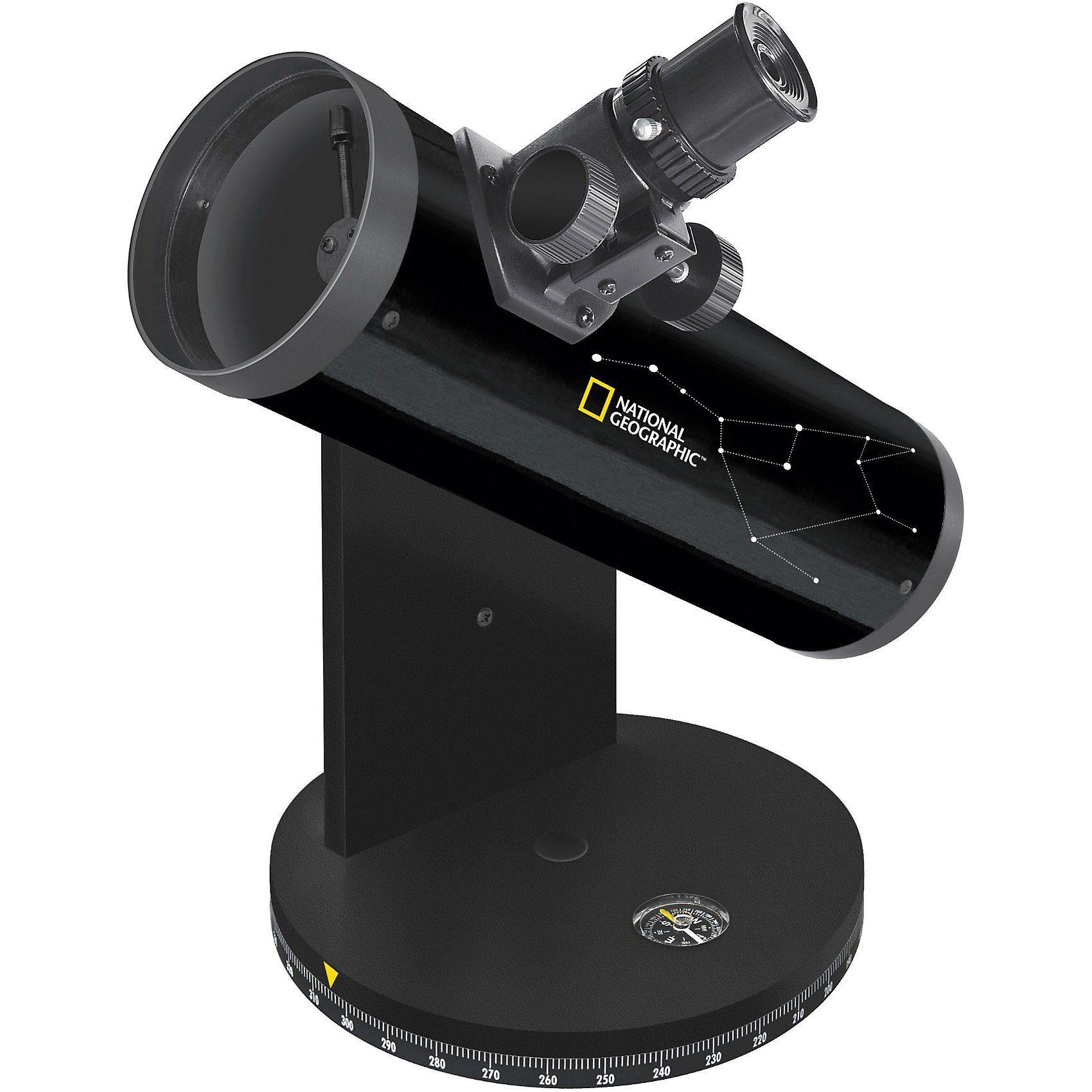 Bresser National Geographic 76/350 Kompakt Teleskop