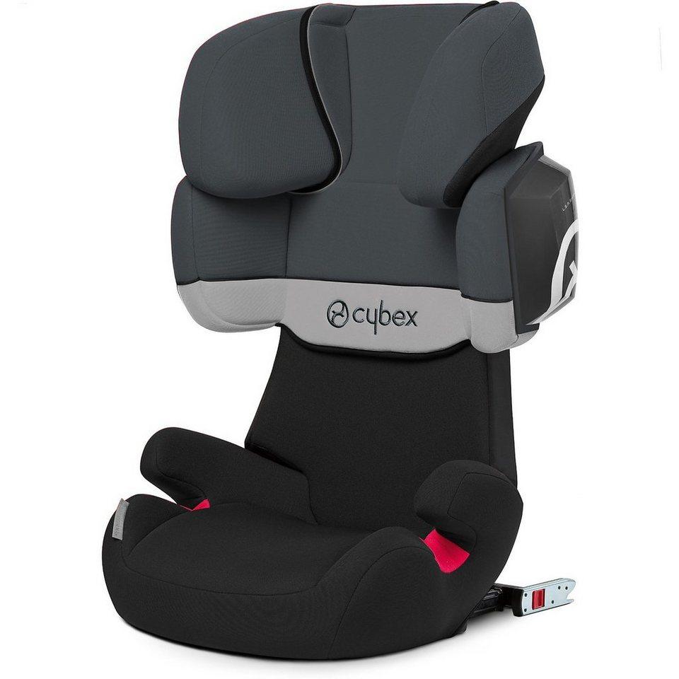 Cybex Auto-Kindersitz Solution X2-Fix, Silver-Line, Grey Rabbit, 2 in grau