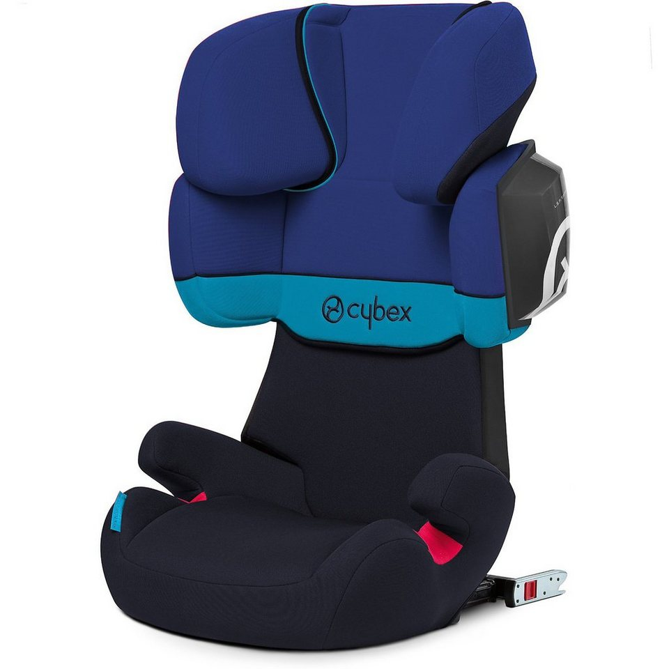 Cybex Auto-Kindersitz Solution X2-Fix, Silver-Line, Blue Moon, 201 in blau
