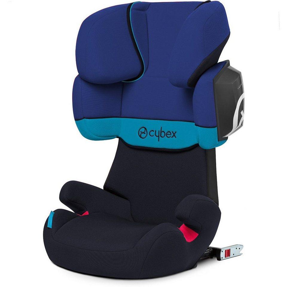 cybex auto kindersitz solution x2 fix silver line blue. Black Bedroom Furniture Sets. Home Design Ideas