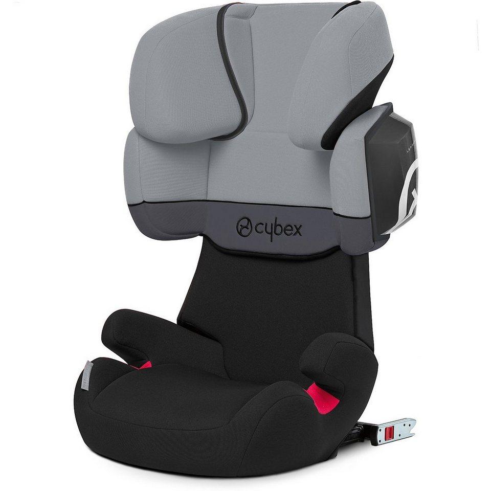 Cybex Auto-Kindersitz Solution X2-Fix, Silver-Line, Cobblestone, 2 in grau