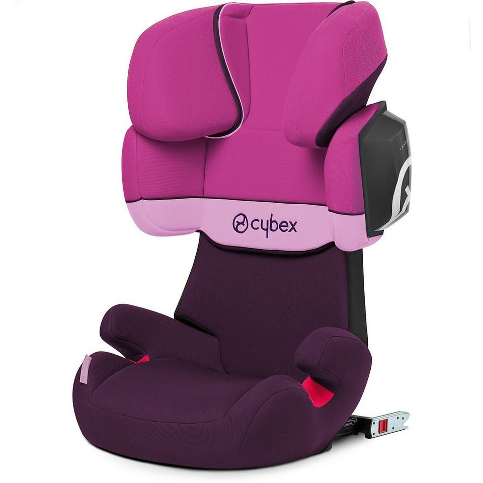 Cybex Auto-Kindersitz Solution X2-Fix, Silver-Line, Purple Rain, 2 in lila