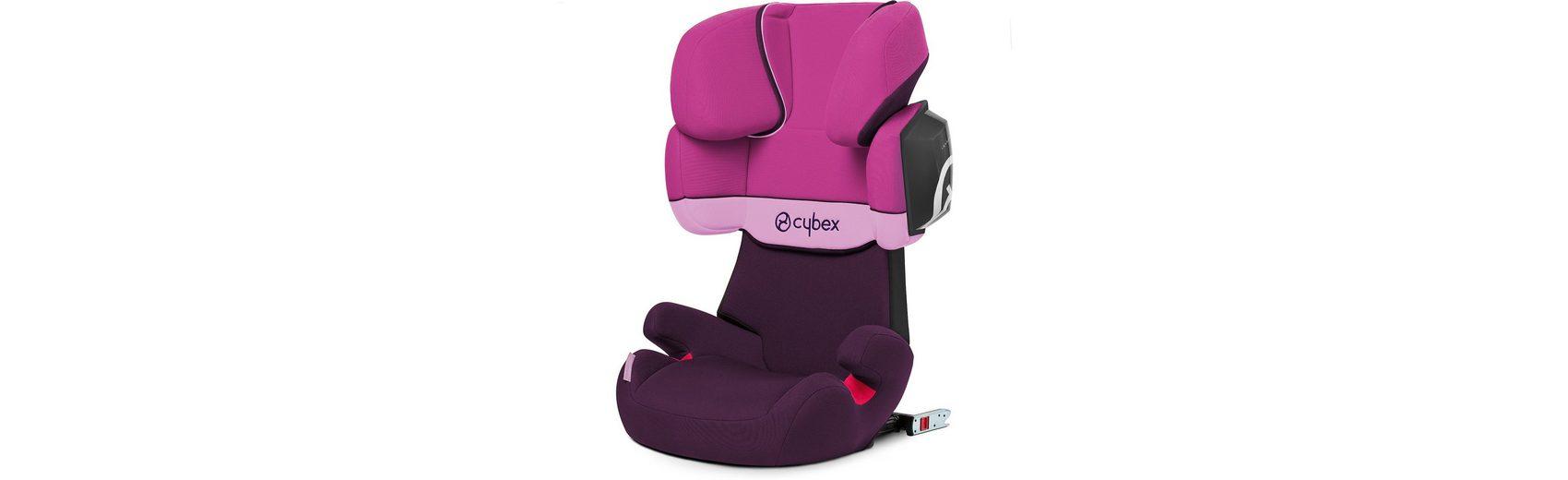Cybex Auto-Kindersitz Solution X2-Fix, Silver-Line, Purple Rain, 2