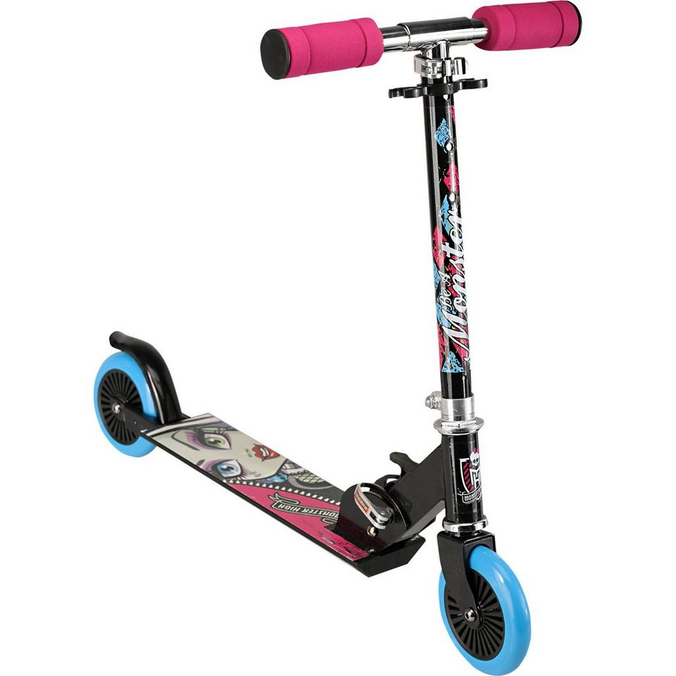 Stamp Monster High Scooter, klappbar in blau
