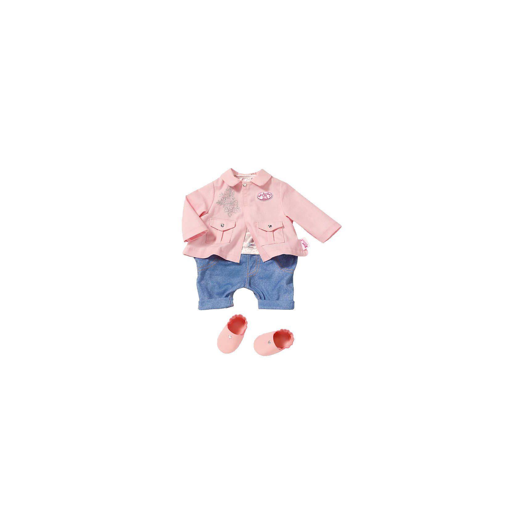 Zapf Creation Baby Annabell® Kleidung Deluxe Spielplatz-Set, 46cm