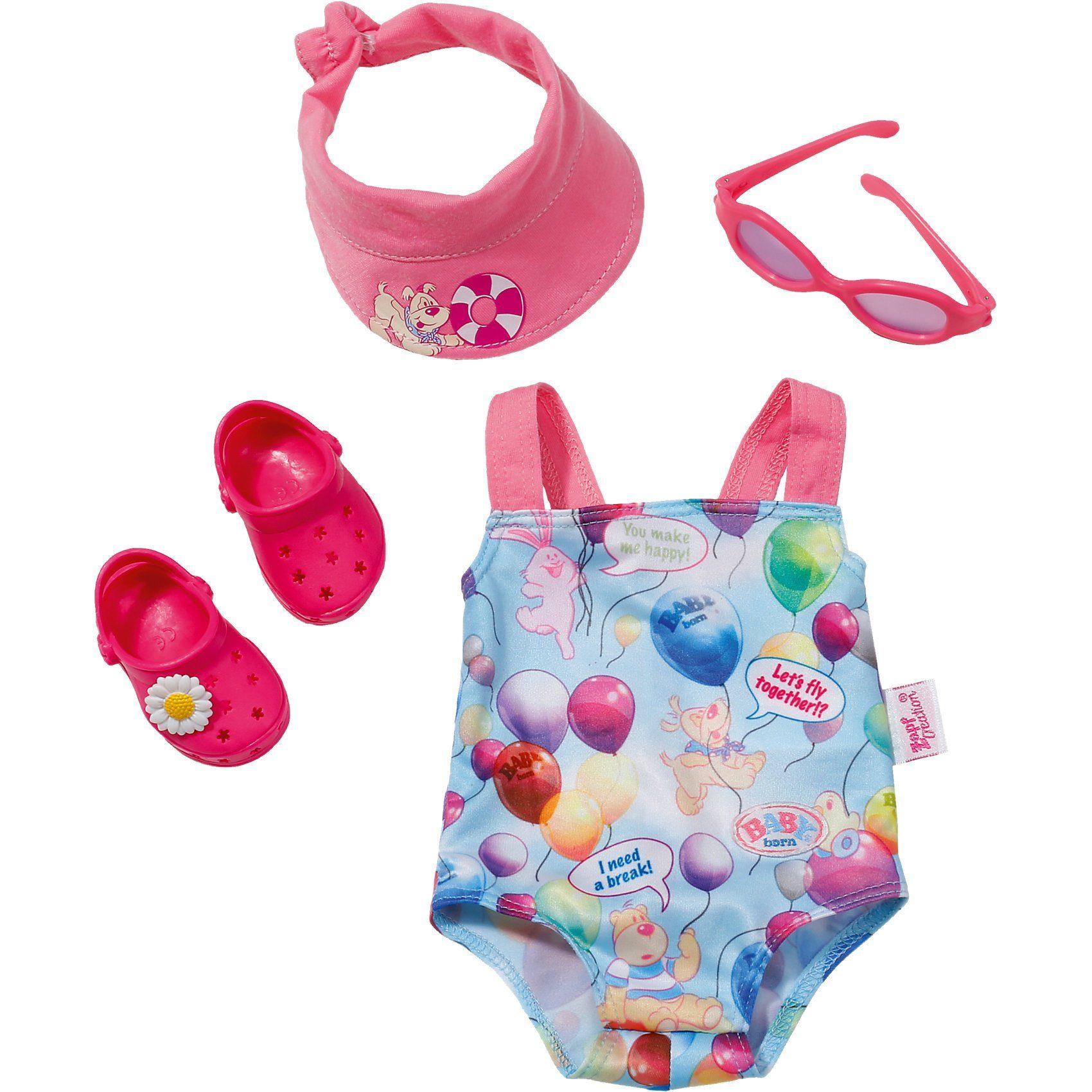 Zapf Creation BABY born® Puppenkleidung Badeanzug-Set