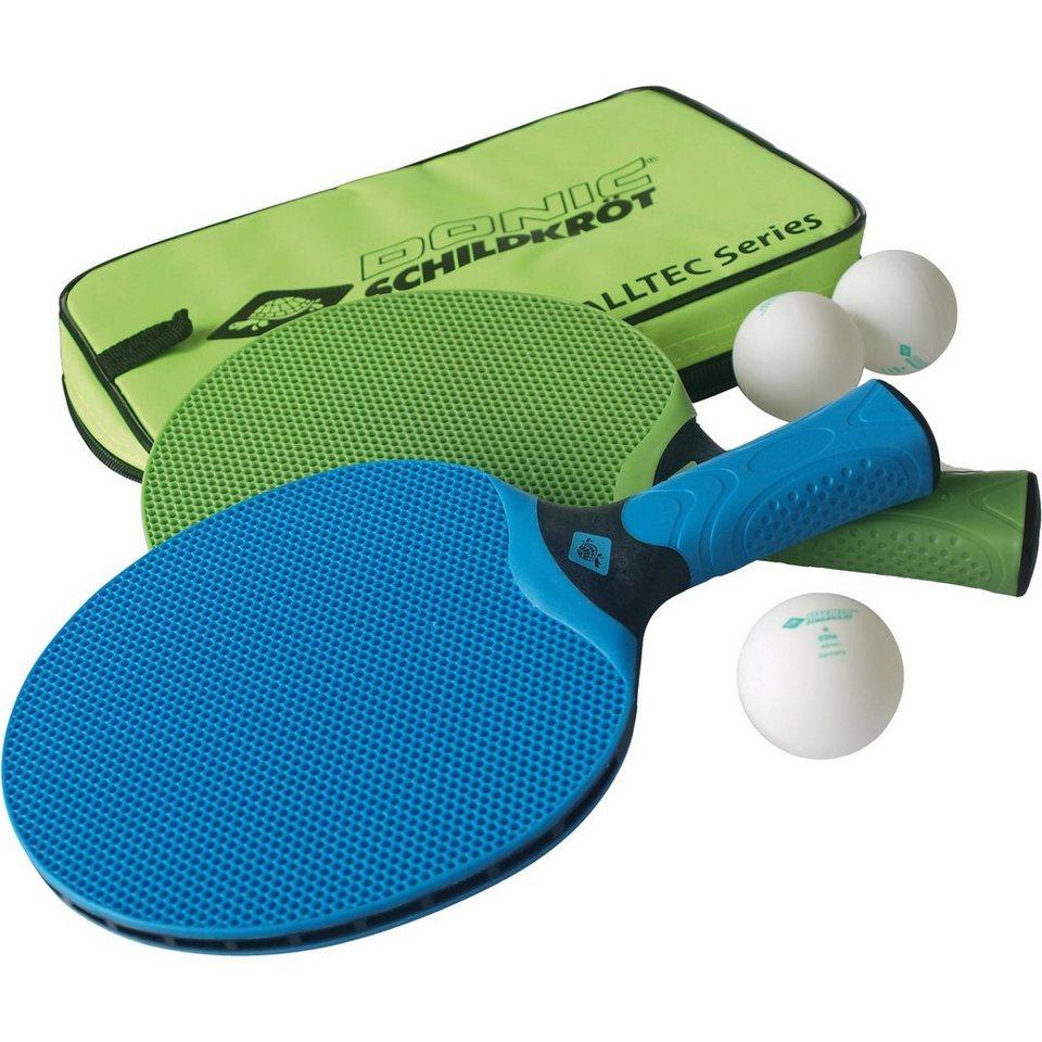 """Donic-Schildkröt Outdoor-Tischtennisset """"Alltec Hobby"""" in grün"""