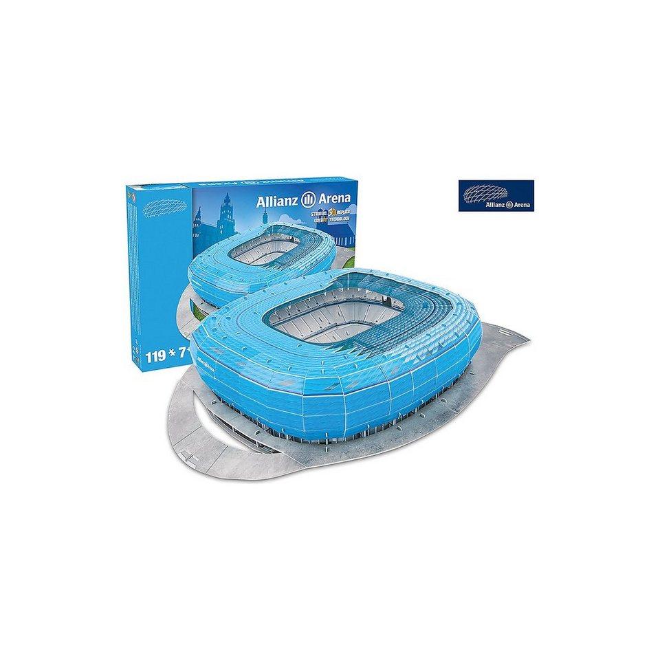 Giochi Preziosi 3D Stadion-Puzzle Allianz Arena München (blau)