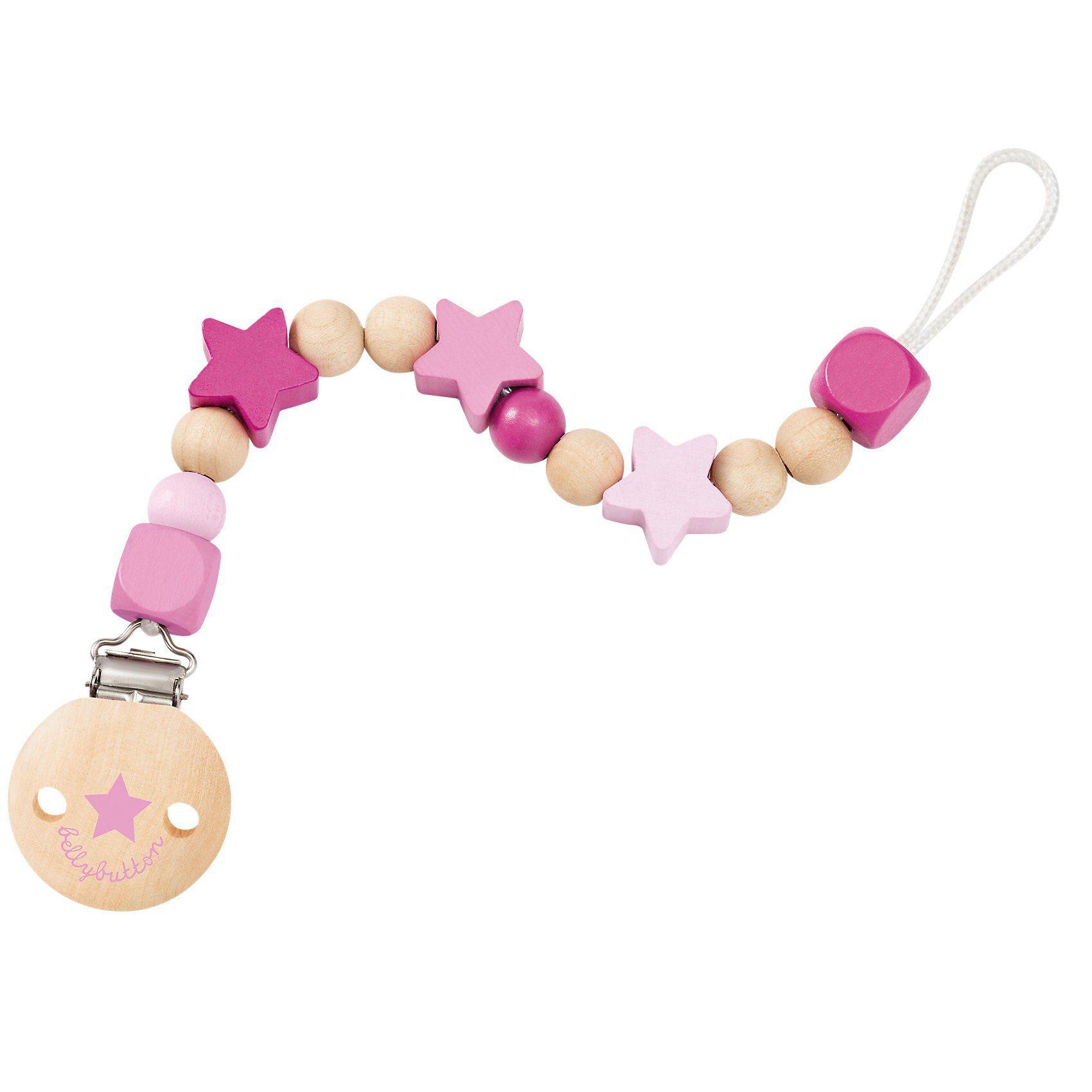 Selecta Sternchenglück Schnullerkette rosa