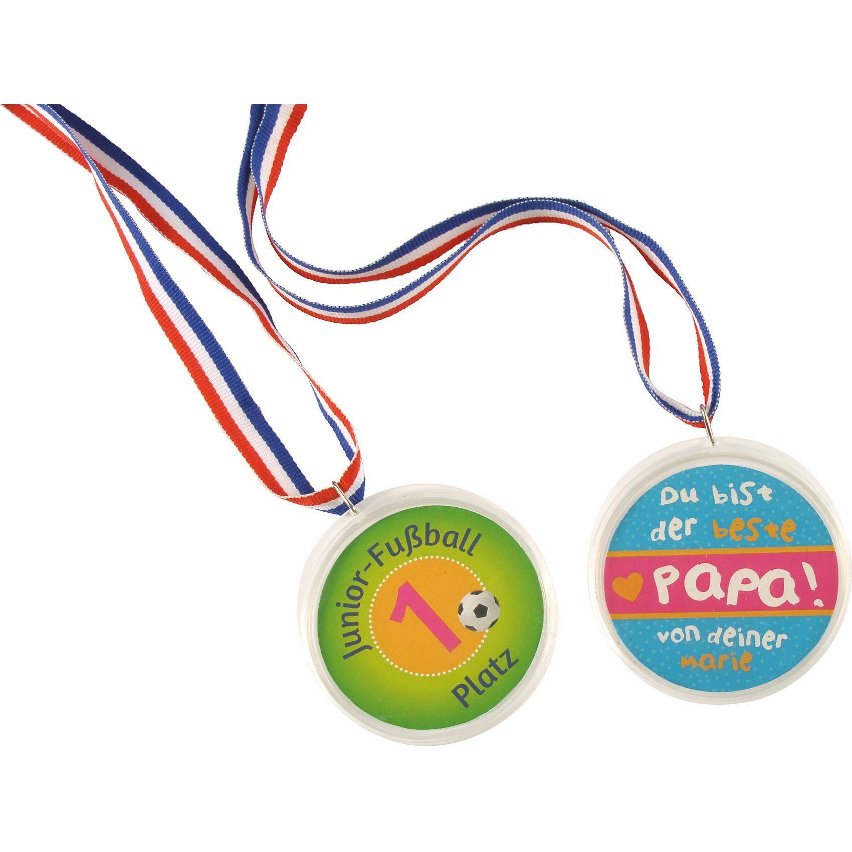 EDUPLAY Medaille zum Selbstgestalten, 10 Stück
