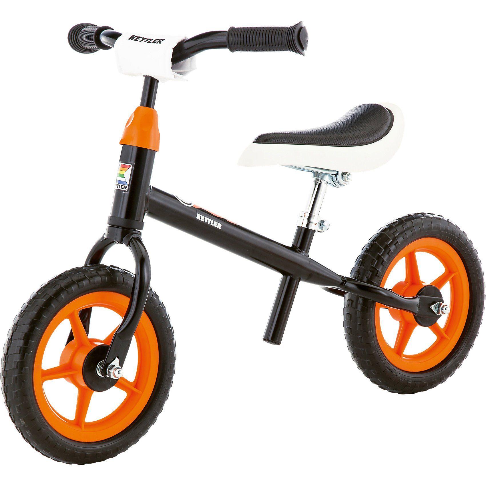 Kettler Laufrad Speedy 10'' Rocket, schwarz-weiß-orange