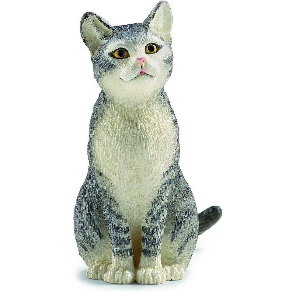 Schleich 13771 Farm World: Katze, sitzend