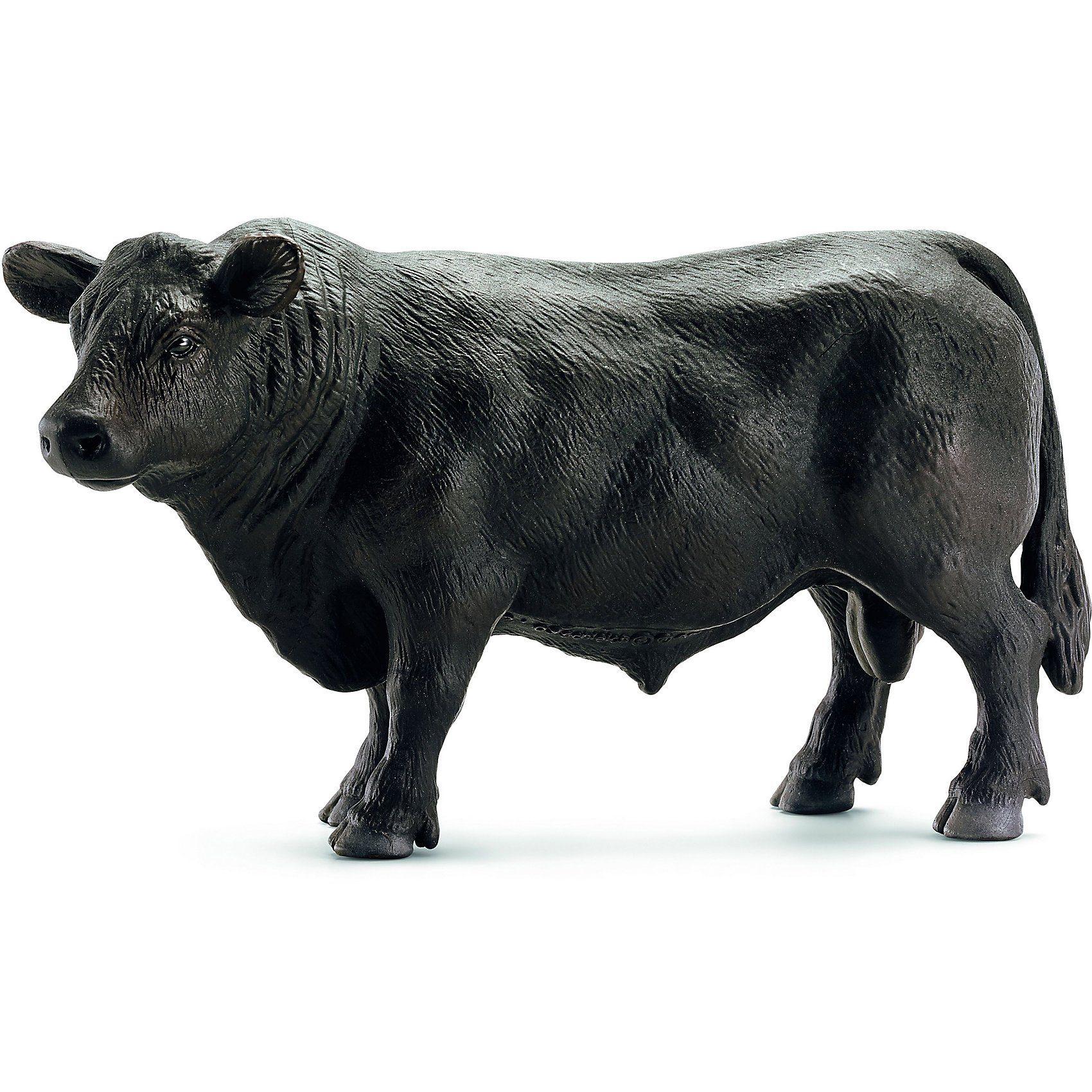 Schleich 13766 Farm World: Black Angus Bulle