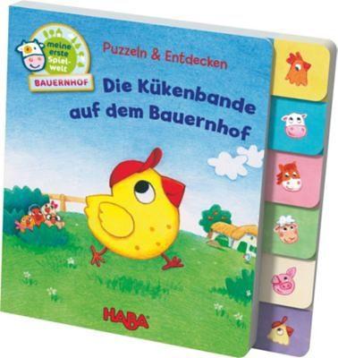 Haba Register-Puzzlebuch: Puzzlen & Entdecken - Die Kükenbande au