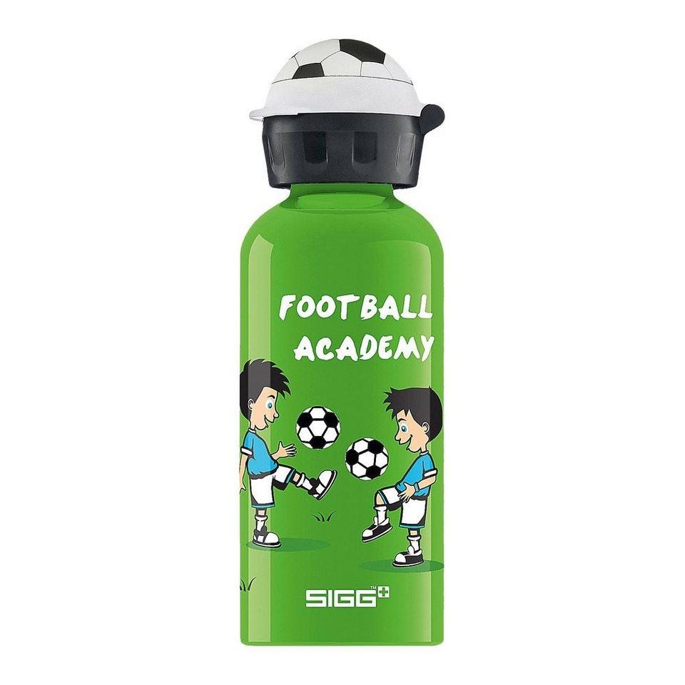 SIGG Alu-Trinkflasche Football Academy, 400 ml in grün