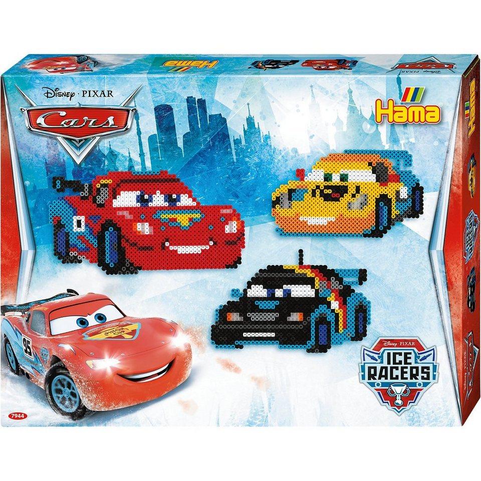 Hama Perlen HAMA 7944 midi-Geschenkset Disney Cars, ca. 4.000 Stück & Zu