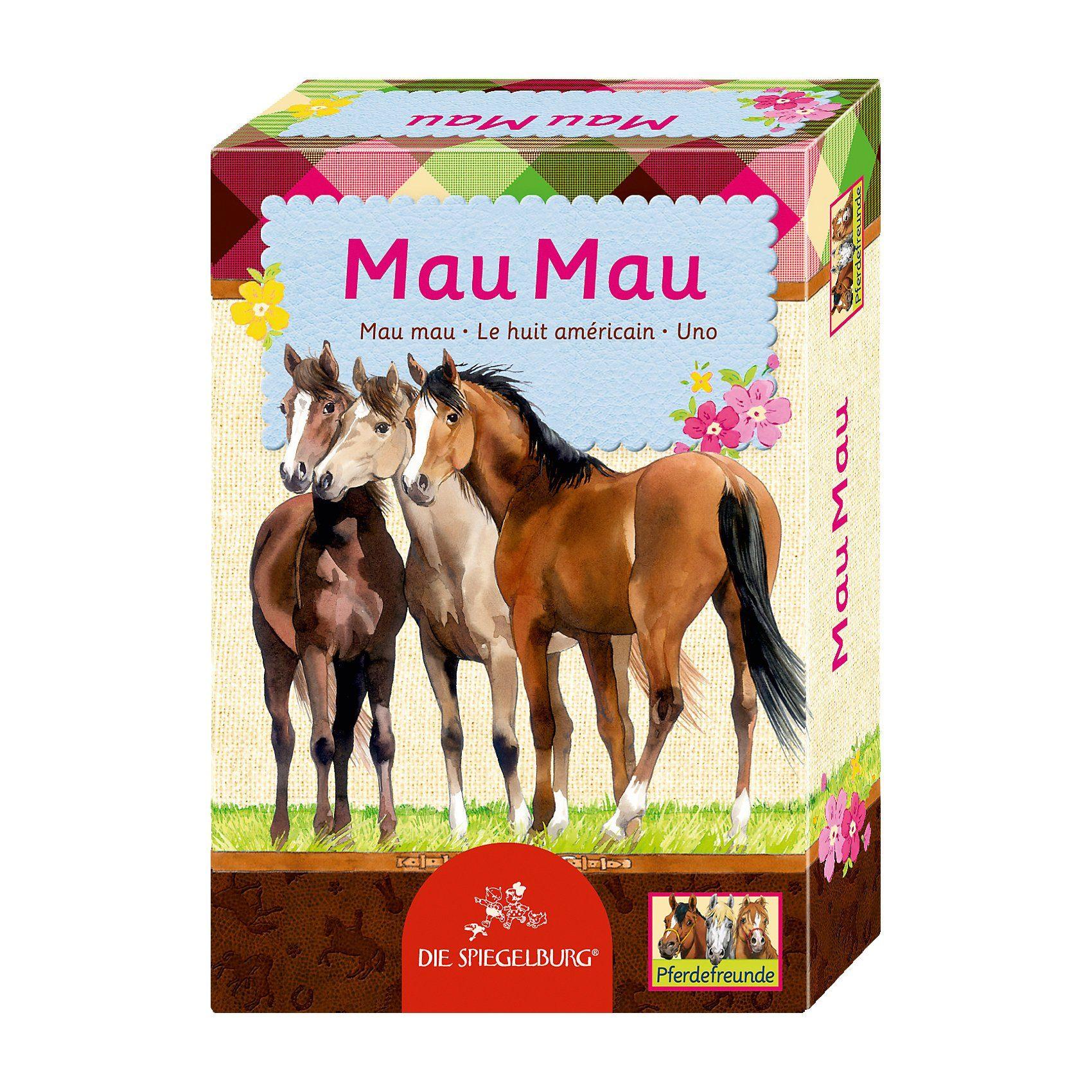Spiegelburg Kartenspiel - Mau Mau Pferdefreunde