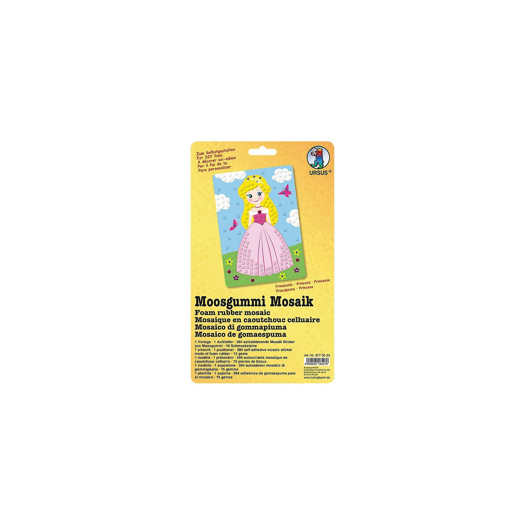 URSUS Moosgummi Mosaik Prinzessin
