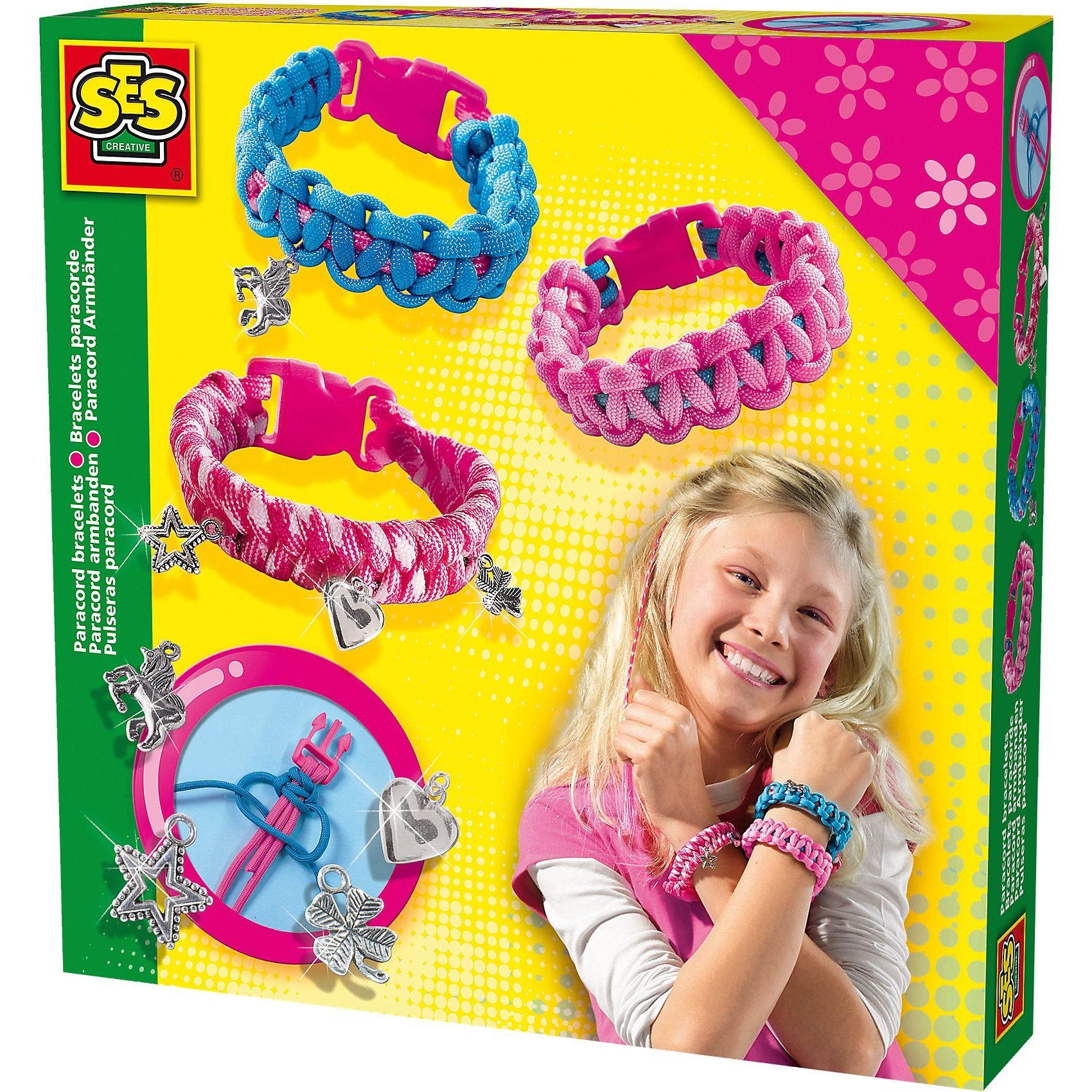 SES Creative Creative Kreativset Paracord Armbänder